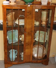 Photo 2 for Art Deco Display Cabinet
