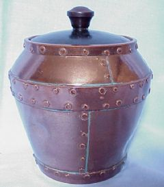 Main photo for Doulton Silcon Ware jar