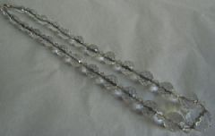 Photo for Clear Glass 1920's / 30's Necklace