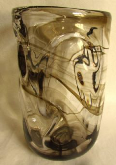 Photo for Whitefriars Knobbly Glass Vase
